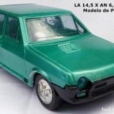 Juguetes antiguos: AÑOS 70 MADE IN SPAIN - SEAT RITMO 65 - VERDE METALIZADO - SIN MARCA. Lote 208687225