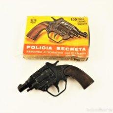 Brinquedos antigos: GONHER REVOLVER PARA FULMINANTES (TIPO CAL. 38) - INOFENSIVO.. Lote 278879173
