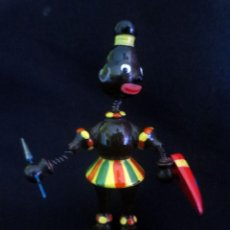 Juguetes antiguos: GUERRERA AFRICANA DE GOULA. Lote 209640708