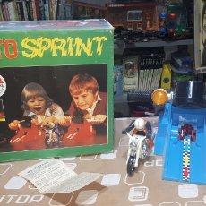 Juguetes antiguos: MOTO SPRINT NACORAL JUGUETE ARO DE PLATA 1979. Lote 210337106
