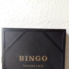 Juguetes antiguos: JUGUETES RIMA BINGO MAGNETICO COMPLETO PERO SIN CAJA JUEGO DE VIAJE AÑOS 70 80 VER FOTOS. Lote 232963280