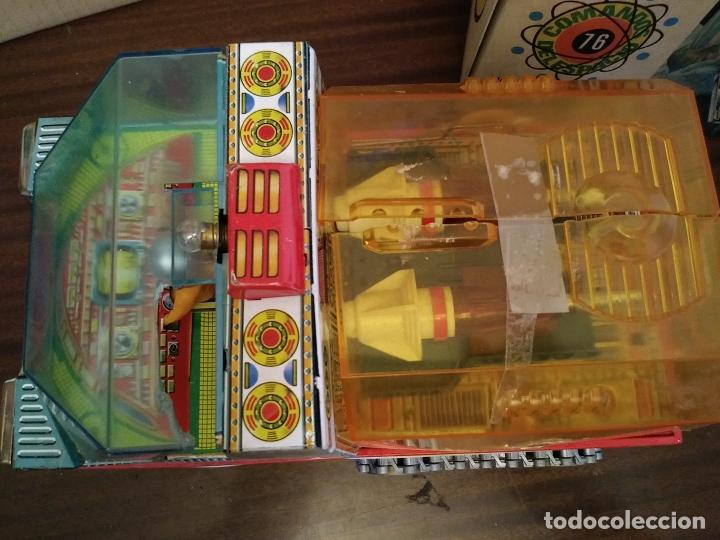 Juguetes antiguos: VEHICULO ESPACIAL COMANDOS DEL ESPACIO Nº 76 EN CAJA - EGE .AÑOS 70 - Foto 4 - 212639801