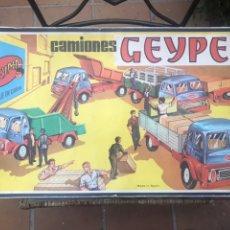 Juguetes antiguos: CAMIONES GEYPER REF.503 CAJA. Lote 212725357