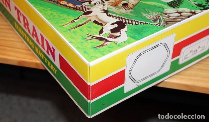 Juguetes antiguos: ANTIGUO TREN DEL OESTE DE BITOY - NUEVO A ESTRENAR - IMPECABLE - AÑOS 70 / 80 - Foto 14 - 214127425