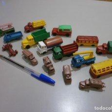 Brinquedos antigos: LOTE DE VEICULOS JUGUETES DE KIOSCO TIPO PLASTICOS VAM. Lote 214192276