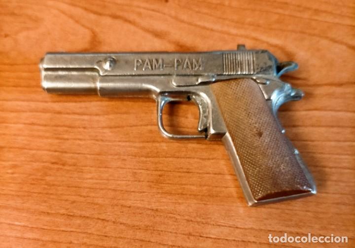 Juguetes antiguos: Pistola PAM PAM - Foto 2 - 216387572