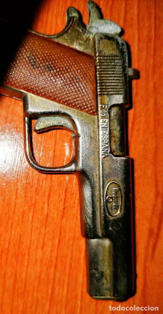 Juguetes antiguos: Pistola PAM PAM - Foto 4 - 216387572