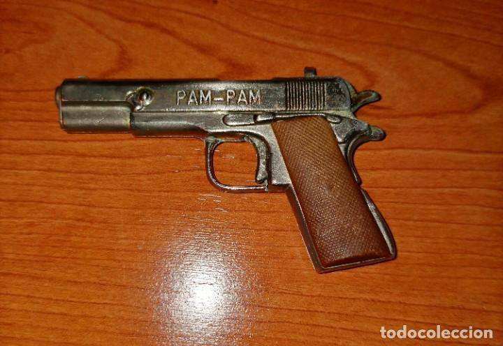 Juguetes antiguos: Pistola PAM PAM - Foto 5 - 216387572