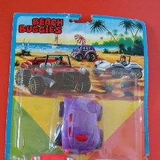 Brinquedos antigos: BLISTER DE 3 COCHES BUGGIES BEACH.SHAMBERS 70S SHAMBER'S.SIN ABRIR.. Lote 217588043