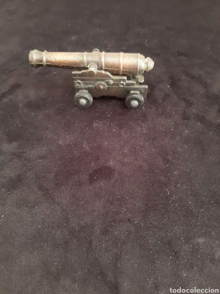 Juguetes antiguos: Afilador/sacapuntas Playme en forma de cañon Made in Spain Años 70 - Foto 4 - 217902927