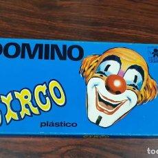 Brinquedos antigos: ANTIGUO DOMINO EN PLASTICO DEL CIRCO DE LA CASA BORRAS. Lote 219018156