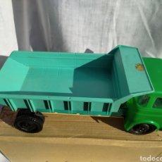 Brinquedos antigos: CAMION VOLQUETE MOLTO EN SU CAJA ORIGINAL. Lote 219256998