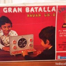 Juguetes antiguos: LA GRAN BATALLA RADAR GR6 DE JUGUETES GRACIA AÑOS 70 CAJA ORIGINAL Y FUNCIONANDO. Lote 219378022