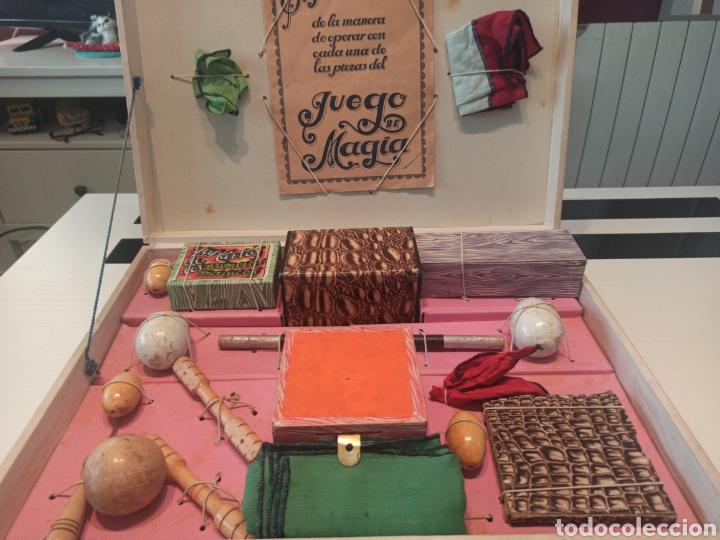 Juguetes antiguos: Bonito juego de magia antiguo borrás. Precio único. - Foto 9 - 220444718