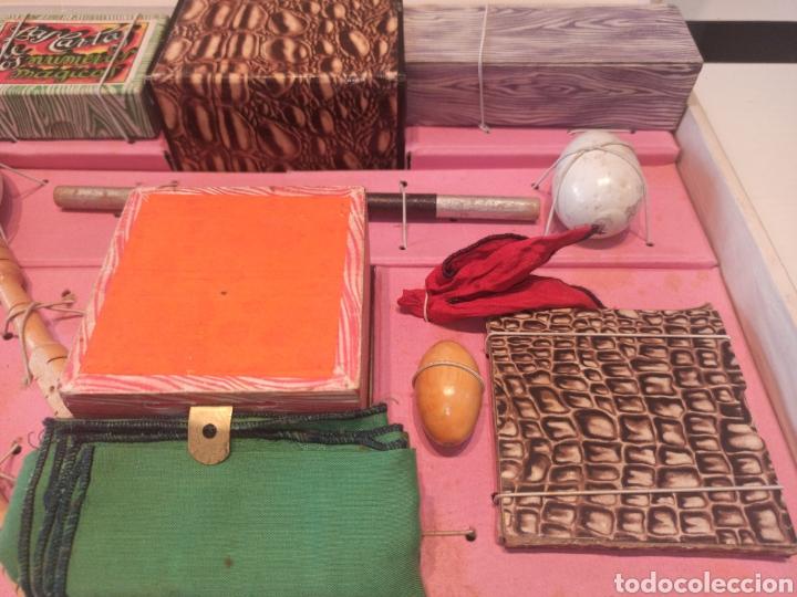 Juguetes antiguos: Bonito juego de magia antiguo borrás. Precio único. - Foto 13 - 220444718