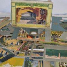 Brinquedos antigos: EL TEATRO DE LOS NIÑOS - SEIX & BARRAL HERMS / CON TEATRO Y 29 TELARES - ¡MIRA FOTOS, PRECIOSO!. Lote 220480212