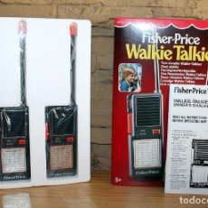 Brinquedos antigos: FISHER PRICE - WALKIE TALKIE - NUEVOS A ESTRENAR - AÑO 1985 - PERFECTO ESTADO. Lote 220949076