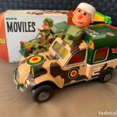 Brinquedos antigos: CITROEN 2 CV VAN MILITAR OBERTOYS AÑOS 70. Lote 221098690