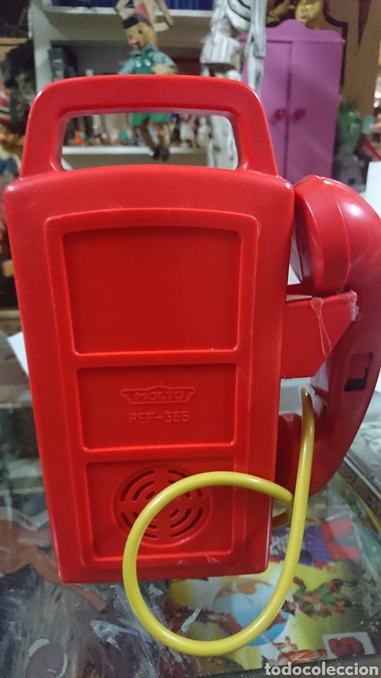 Juguetes antiguos: Teléfono MOLTO - Foto 4 - 221438556
