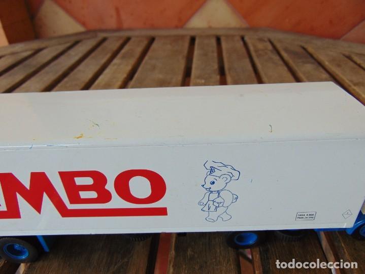 Juguetes antiguos: CAMIÓN PEGASO ARTICULADO ,PUBLICIDAD BIMBO PIEZAS O RESTAURAR - Foto 3 - 271653708