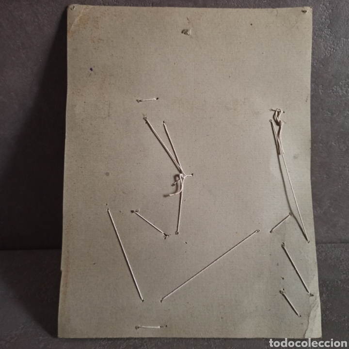 Juguetes antiguos: Carpintería Ideal modelo 0 Juguete en su blister - Foto 4 - 221700986