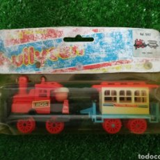 Juguetes antiguos: ANTIGUO BLISTER TREN EXPRÉS JUGUETES BULLYCAN REF.F 5142 MADE IN SPAIN. Lote 221881363