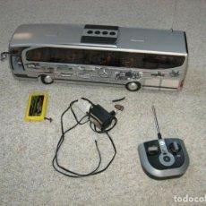 Juguetes antiguos: MERCEDES TRAVEGO DICKIE AUTOCAR RADIO CONTROL ME KEDA EL COLOR ROJO ESCALA 1/14. Lote 222559357