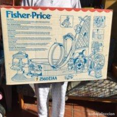 Juguetes antiguos: MASTERS LOTE IMPRESIONANTE PARQUE ATRACCIONES FISHER PRICE AÑOS 90 EN CAJA PRECINTADA DE FABRICA. Lote 224133362