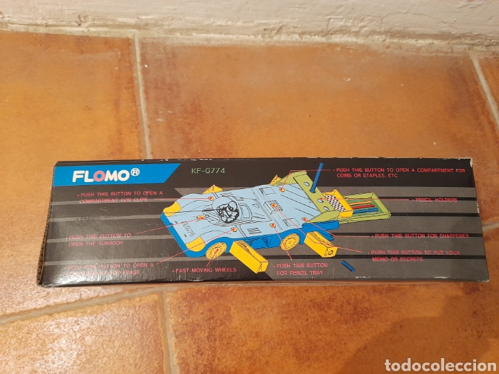 Juguetes antiguos: FLOMO RACING CAR - Foto 4 - 224209916