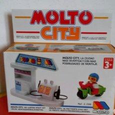 Giocattoli antichi: GASOLINERA REF.2286 MOLTO CITY 80S.NUEVO EN CAJA SIN ABRIR.. Lote 224279253