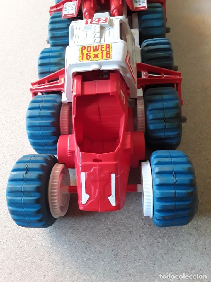 Juguetes antiguos: Vehículo lunar de clim grandes dimensiones 62cms - Foto 8 - 227902445
