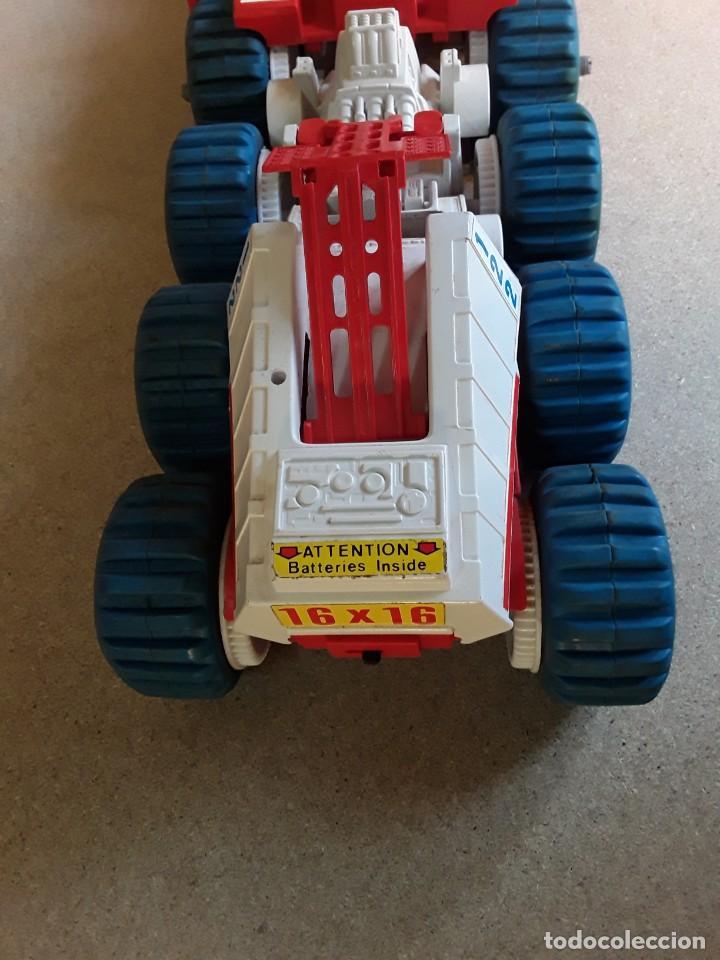 Juguetes antiguos: Vehículo lunar de clim grandes dimensiones 62cms - Foto 9 - 227902445