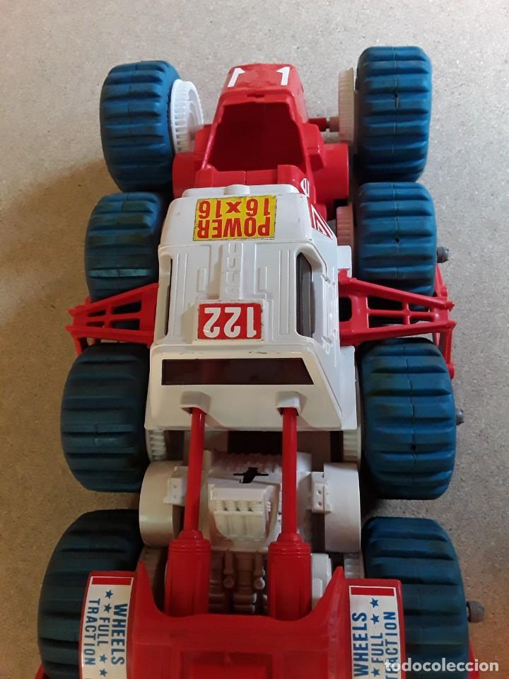 Juguetes antiguos: Vehículo lunar de clim grandes dimensiones 62cms - Foto 11 - 227902445