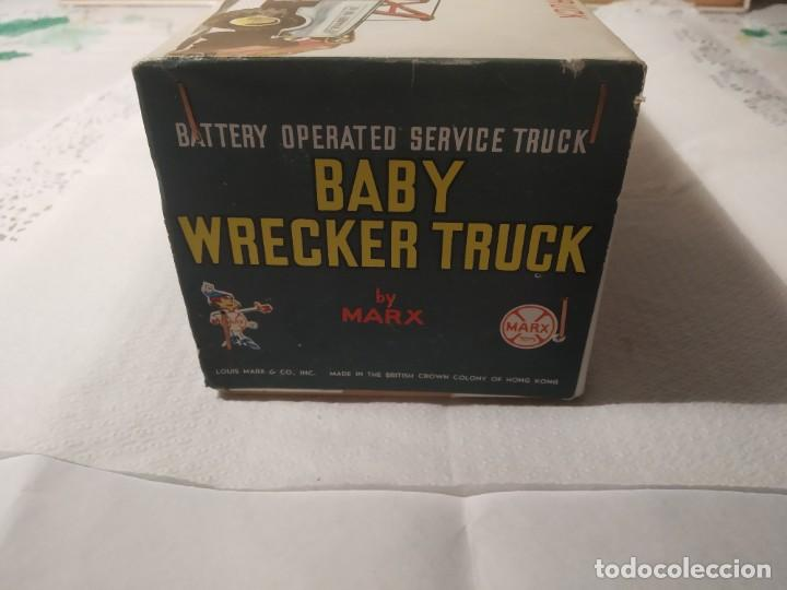 Juguetes antiguos: Baby wrecker truck/ años 60 Marx Truck battery operated - Foto 5 - 227918710