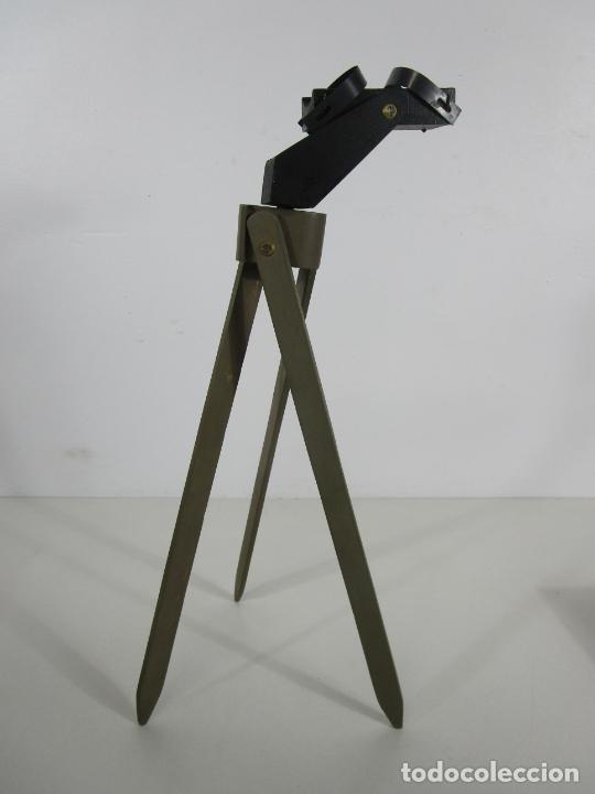 Juguetes antiguos: Caja Anteojo Astronómico - con Trípode en Madera - Foto 7 - 228003650