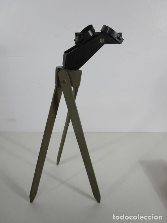 Juguetes antiguos: Caja Anteojo Astronómico - con Trípode en Madera - Foto 12 - 228003650