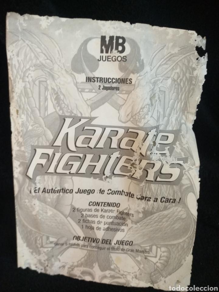 Juguetes antiguos: juego Karate Fighthers de MB - Foto 4 - 231145155