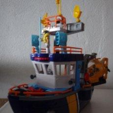 Juguetes antiguos: FISHER-PRICE BARCO OCEANOGRAFICO. Lote 232808205