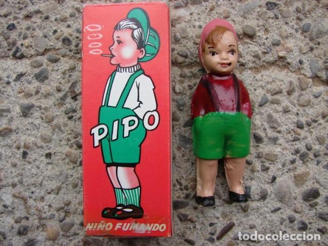 PIPO - NIÑO FUMADOR COMPLETO CON SU BOLSA DE CIGARRILLOS. (Juguetes - Marcas Clasicas - Otras Marcas)