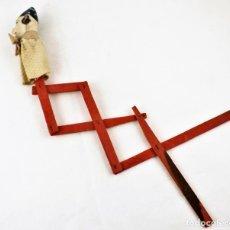 Giocattoli antichi: MARIONETA O GUIÑOL ANTIGUO. DECADA DE LOS 50. Lote 236253305