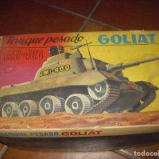 Juguetes antiguos: TANQUE JUGUETE GOLIAT LMI 400 CARRO COMBATE. Lote 237179940