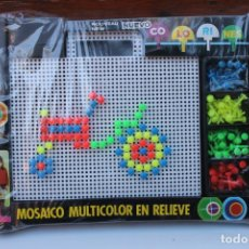 Brinquedos antigos: COLORINES MOSAICO TRACTOR DE JUGUETES PIQUE- AÑOS 70-80. Lote 237750980