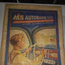 Juguetes antiguos: MS AUTOBAHN 1001 - ANTIGUO JUGUETE METALICO DE CONDUCCION - AÑO 1950 - CAJA ORIGINAL.. Lote 237824200