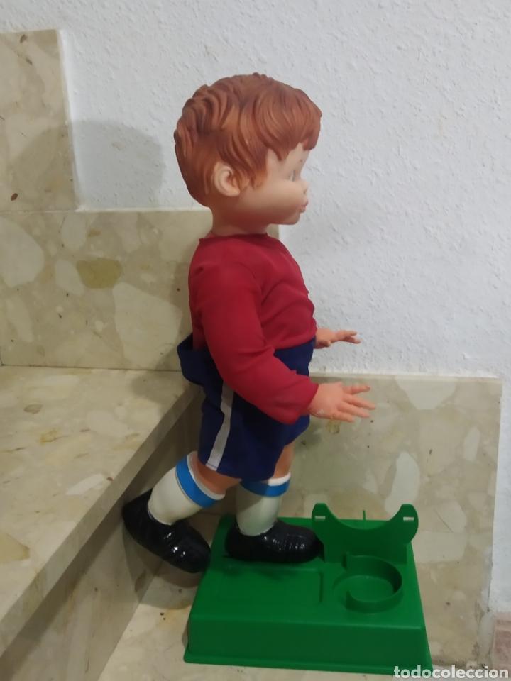 Juguetes antiguos: Antiguo muñeco futbolista GEYPER GOL de los 70 selección española - Foto 4 - 238311735