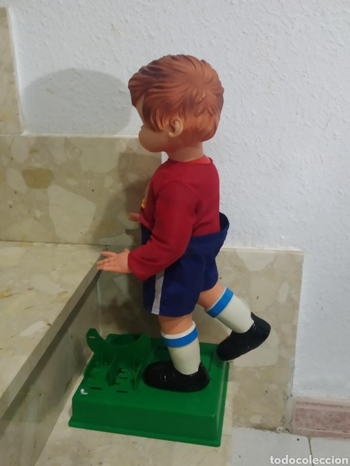 Juguetes antiguos: Antiguo muñeco futbolista GEYPER GOL de los 70 selección española - Foto 5 - 238311735