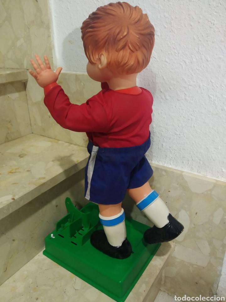 Juguetes antiguos: Antiguo muñeco futbolista GEYPER GOL de los 70 selección española - Foto 7 - 238311735