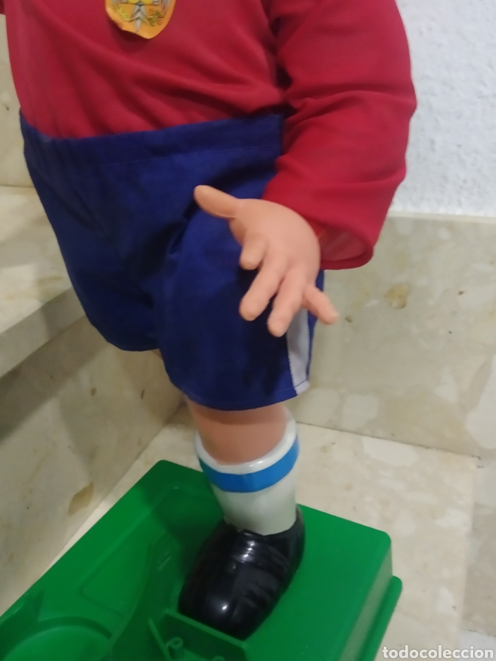 Juguetes antiguos: Antiguo muñeco futbolista GEYPER GOL de los 70 selección española - Foto 17 - 238311735