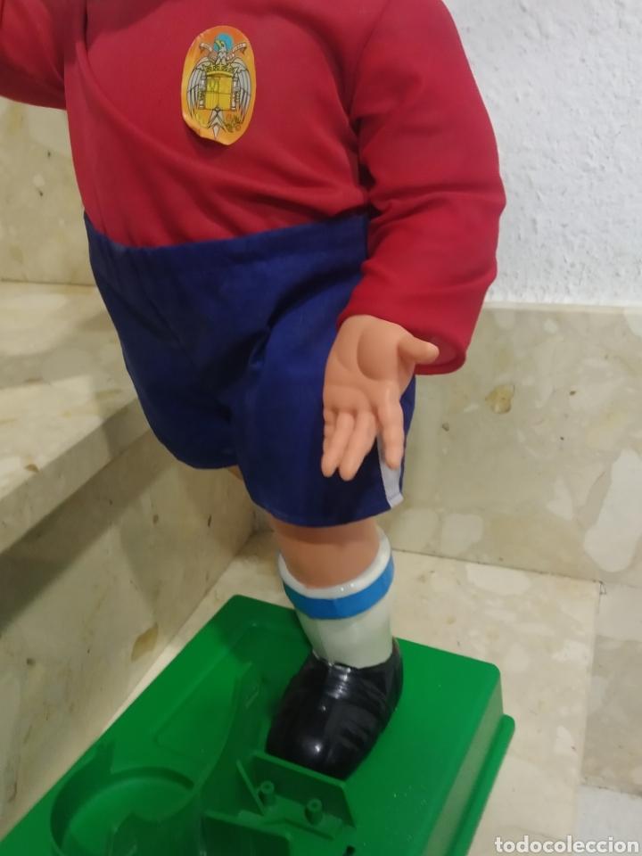 Juguetes antiguos: Antiguo muñeco futbolista GEYPER GOL de los 70 selección española - Foto 18 - 238311735