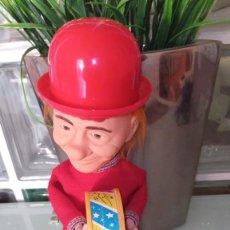 """Brinquedos antigos: MUÑECO FOFO CUERDA AÑOS 70 """"LOS PAYASOS DE LA TELE"""" FUNCIONA PERFECTAMENTE. Lote 240180970"""