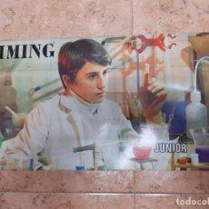 Juguetes antiguos: KIMING-JUEGO DE QUIMICA - EDAD 11 A 16 AÑOS. ORIGINAL AÑO 1969.. Lote 240771030